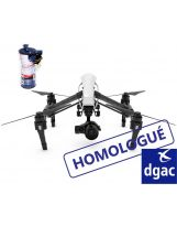 Forfait homologation S1|S2|S3 Inspire 1 (MARS 58) - DJI