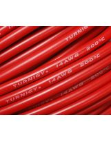 Turnigy Câble Pure-Silicone 14AWG (1mtr) Rouge