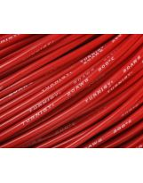 Turnigy Câble Pure-Silicone 20AWG (1mtr) Rouge